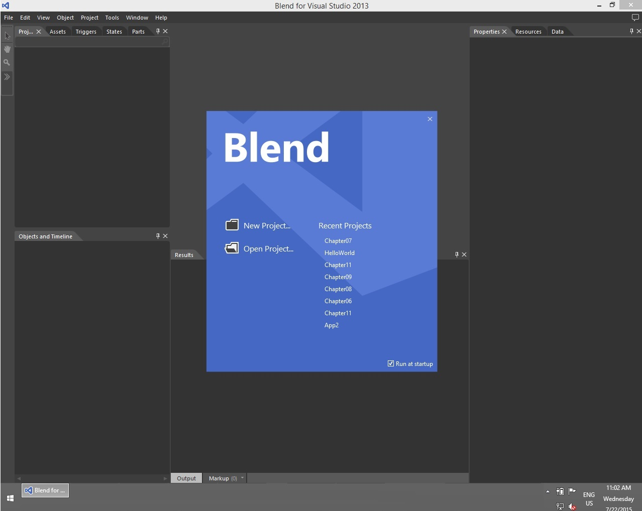 Blend on Windows 8